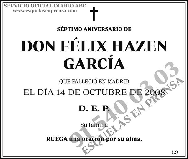 Félix Hazen García
